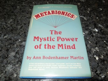 Image for Metabionics: The Mystic Power of the Mind