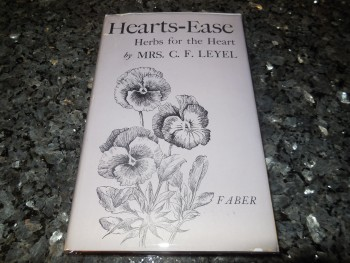 Image for Hearts-Ease: Herbs for the Heart, the Ductless  Glands and the Nerves