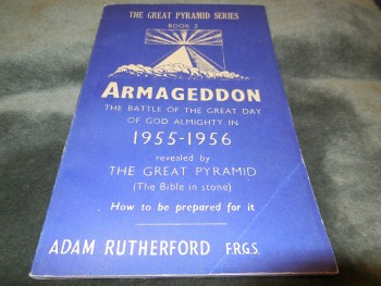 Image for The Great Pyramid Series, Book 3: Armageddon, the Battle of the Great Day of God Almighty in 1955-1956 Revealed by the Great Pyramid (the Bible in Stone) (1953)