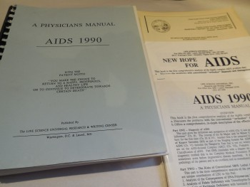 Image for A Physicians Manual - AIDS 1990