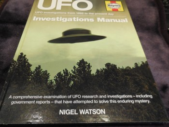 Image for UFO Investigations Manual: UFO investigations from 1982 to the present Day