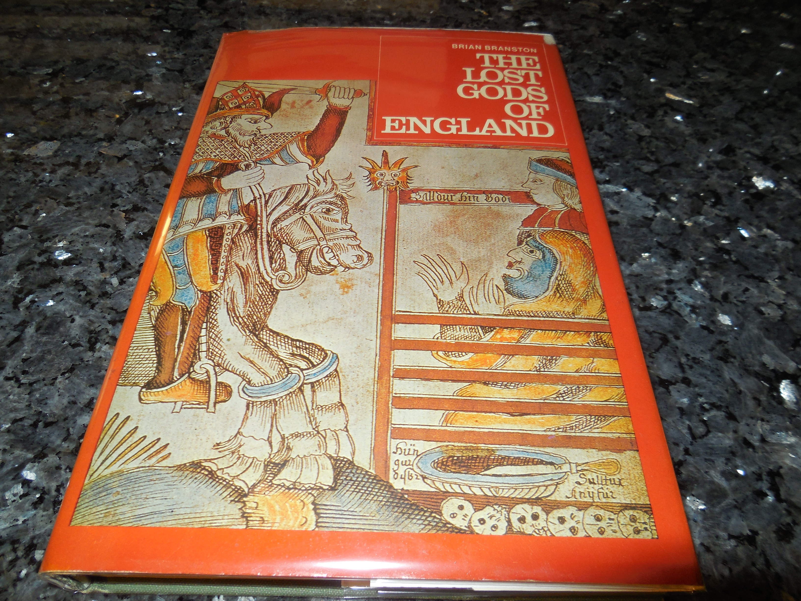 Image for The Lost Gods of England