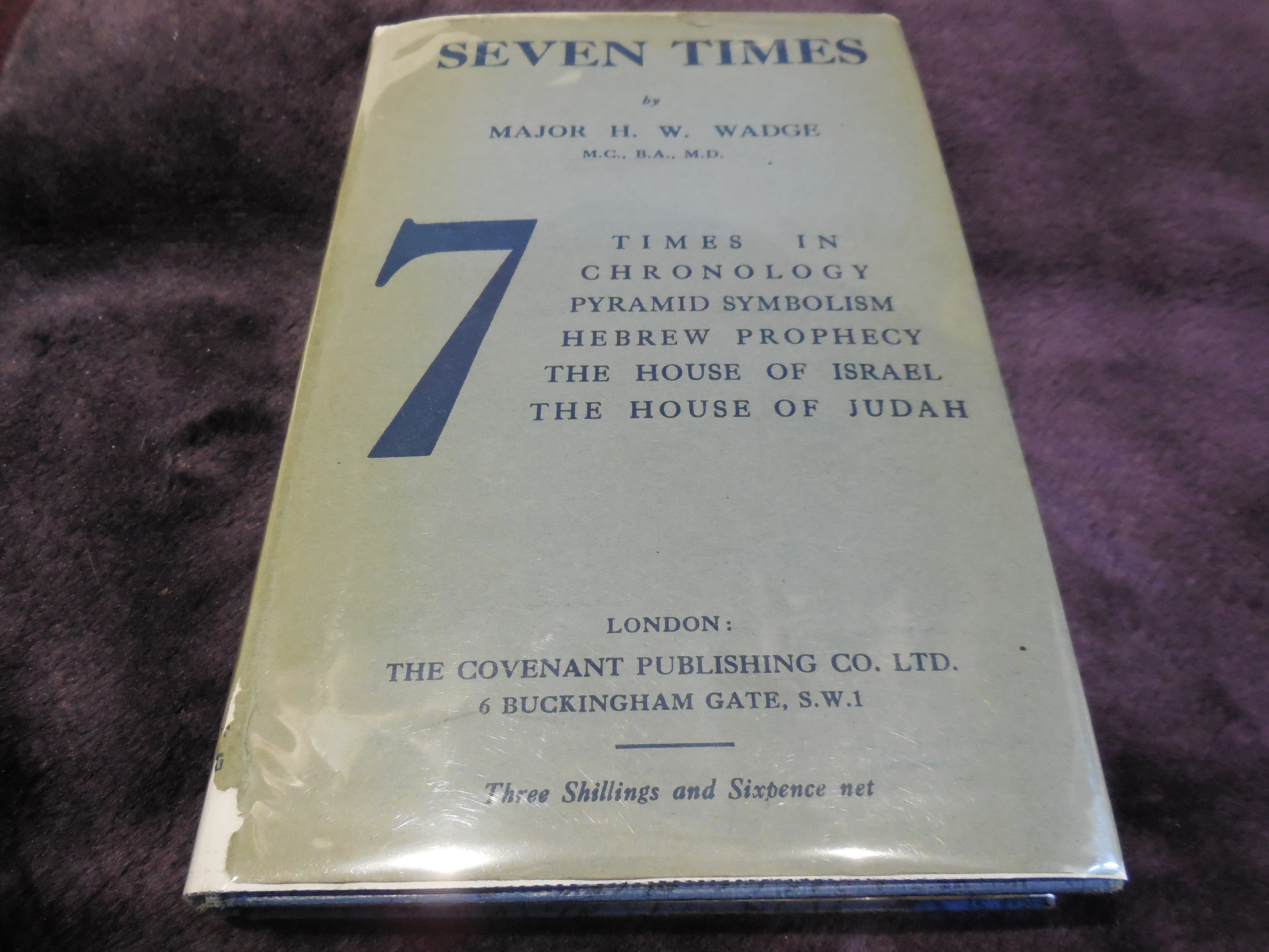 Image for Seven Times
