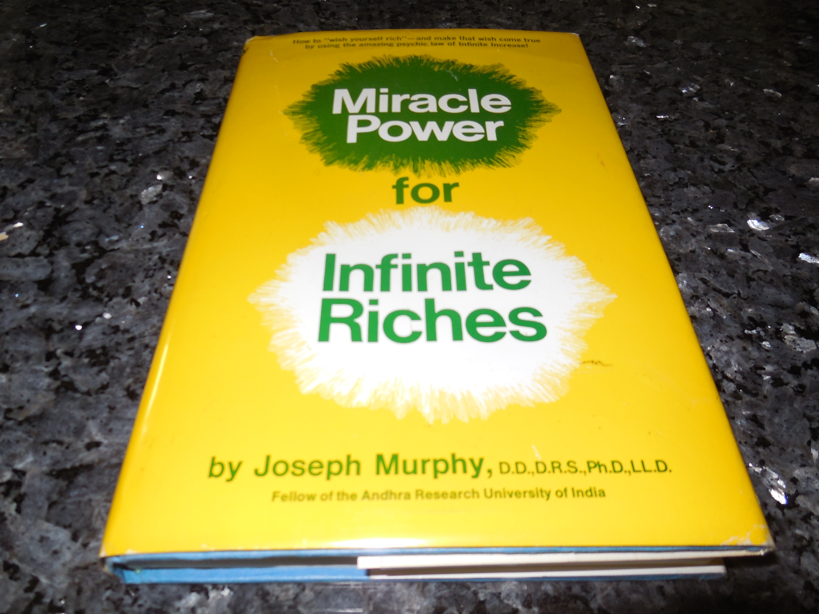 Image for Miracle Power for Infinite Riches