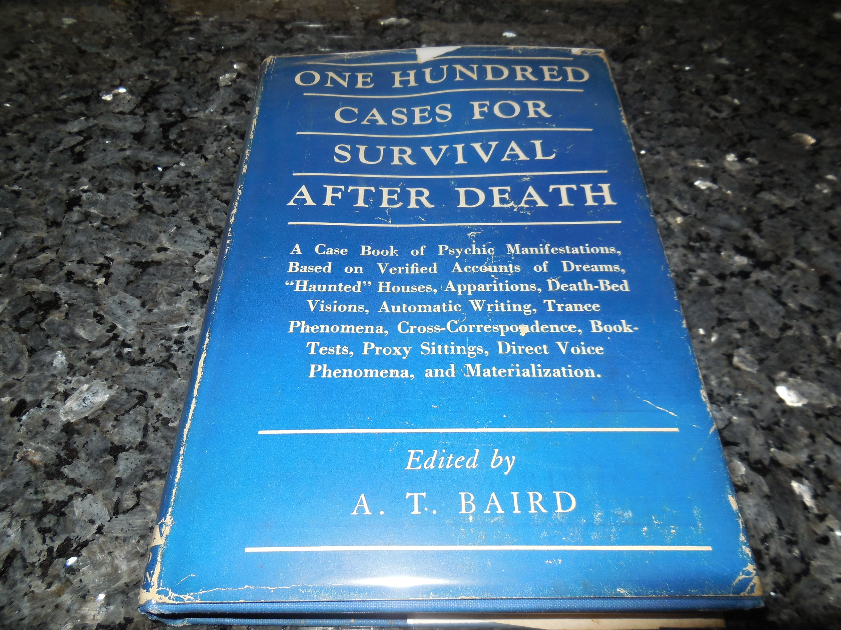 Image for One Hundred Cases For Survival After Death