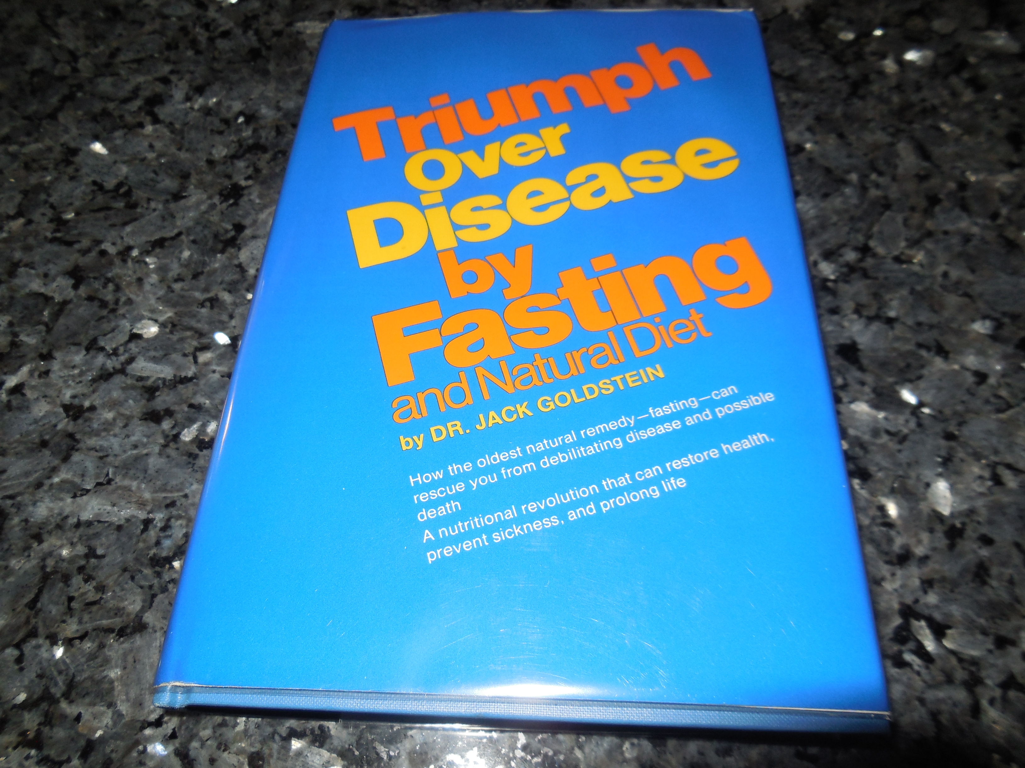 Image for Triumph Over Disease--by Fasting and Natural Diet