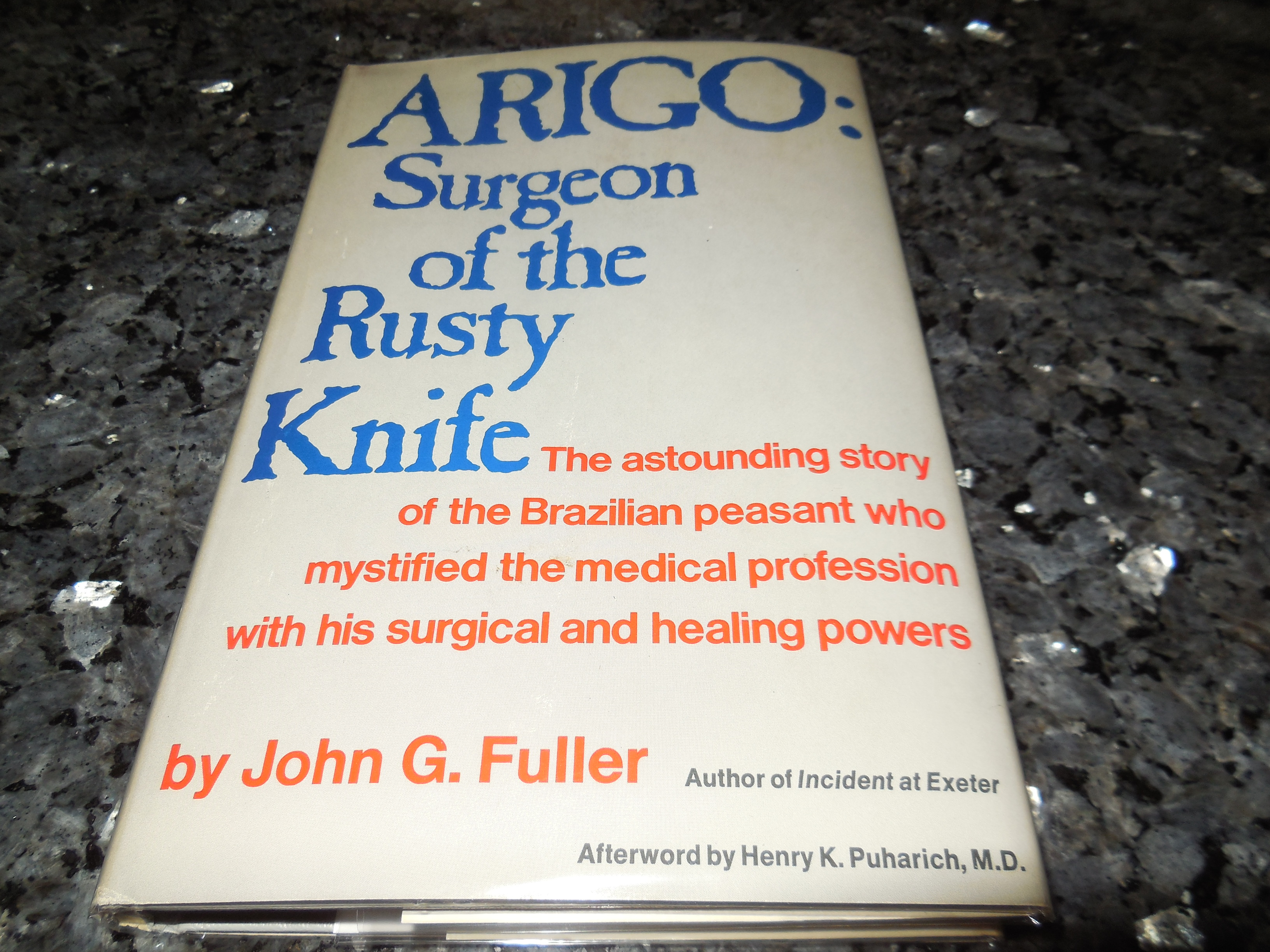 Image for ARIGO: Surgeon of the Rusty Knife