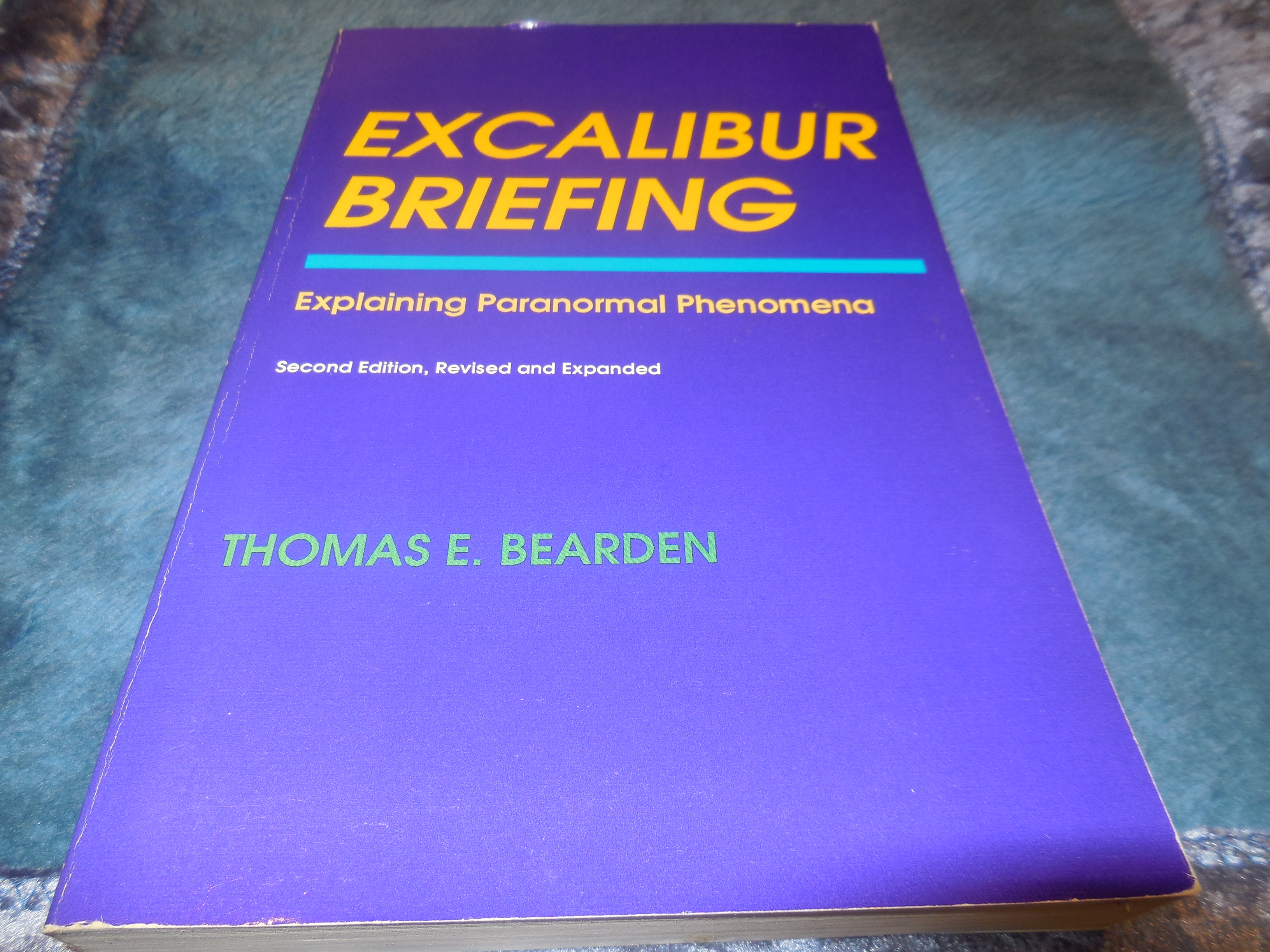 Image for Excalibur Briefing: Explaining Paranormal Phenomena