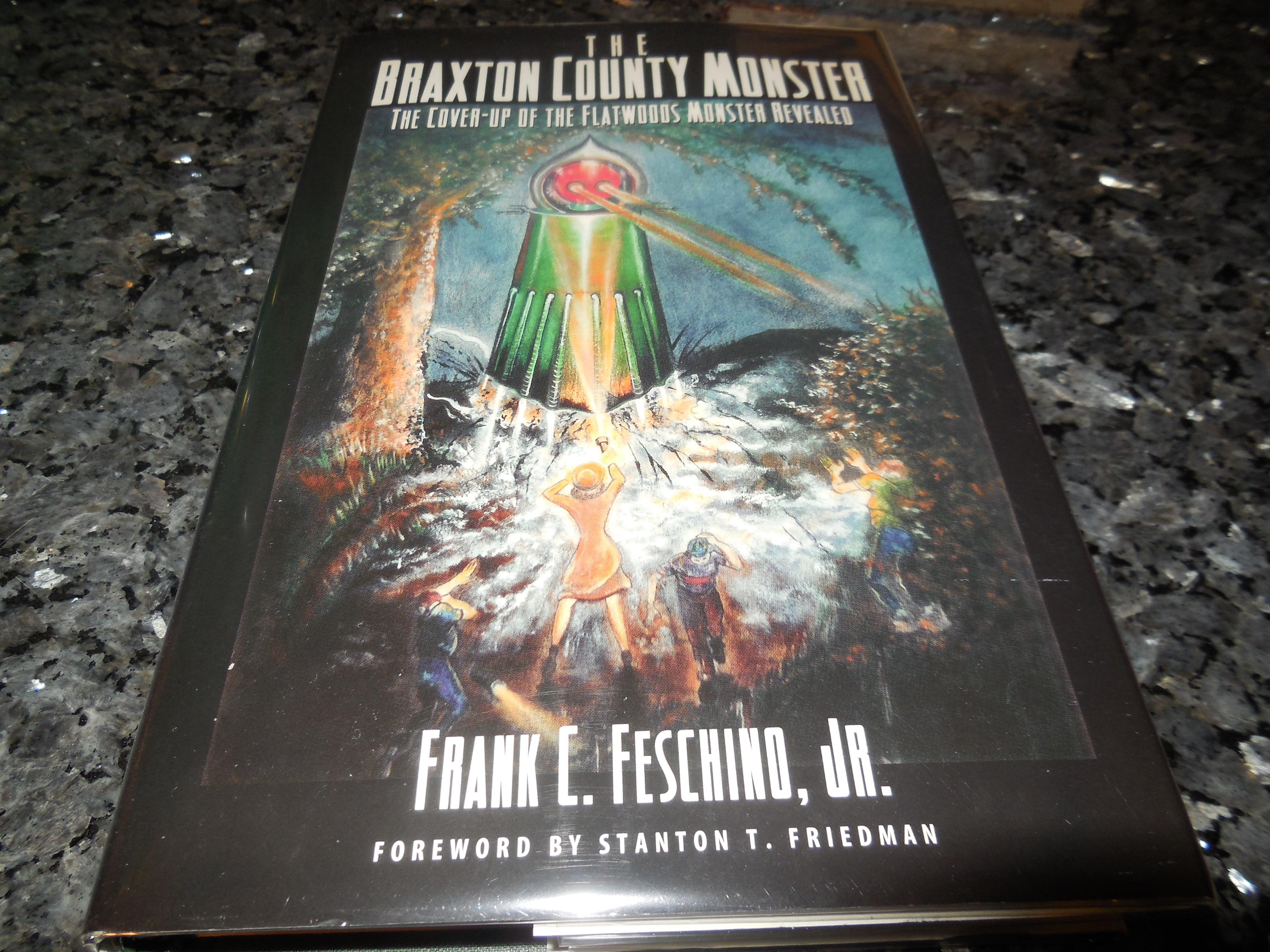 Image for The Braxton County Monster: The Cover-Up of the Flatwoods Monster Revealed