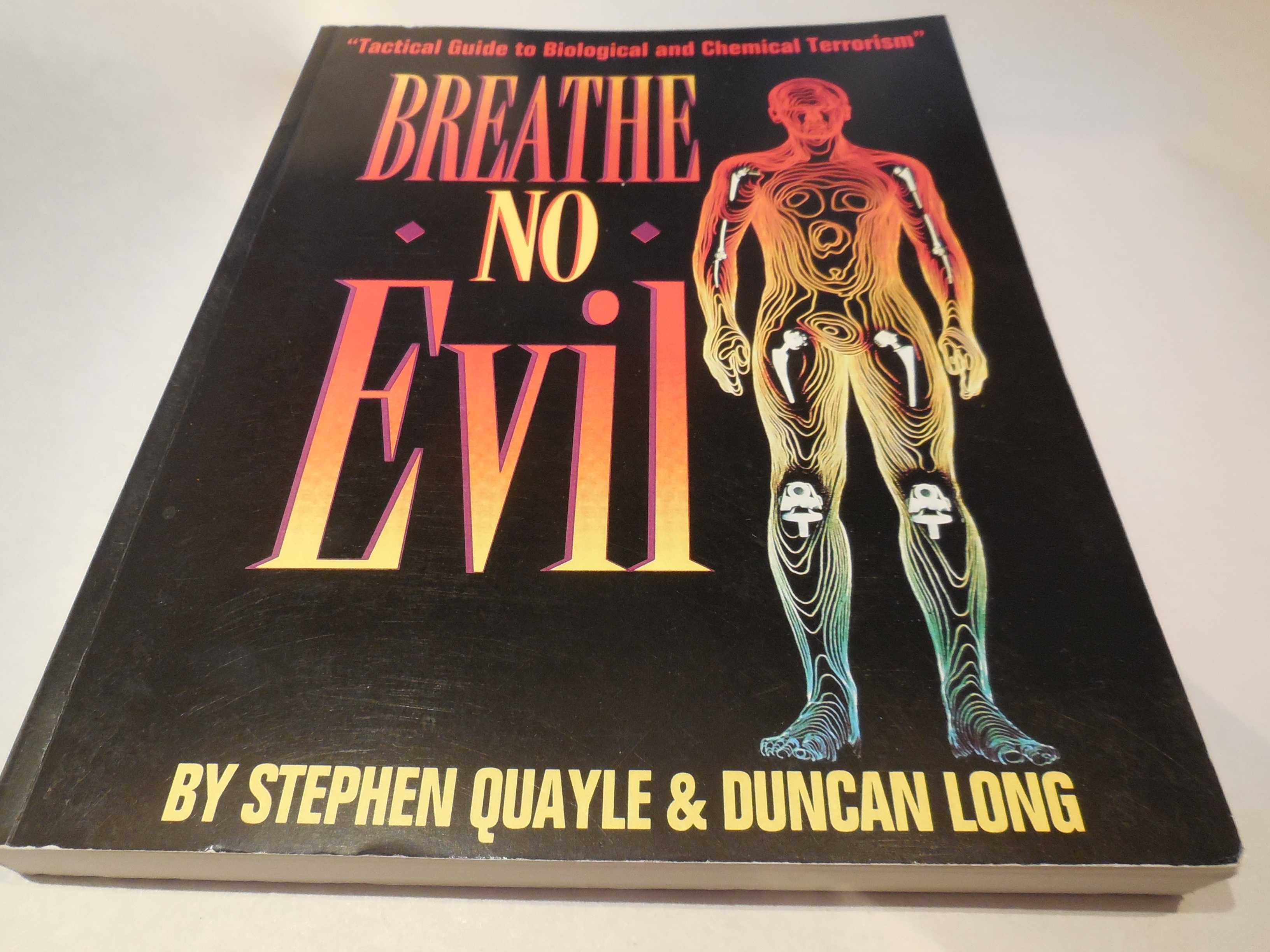 Image for Breathe No Evil - Tactical Guide to Biological and Chemical Terrorism