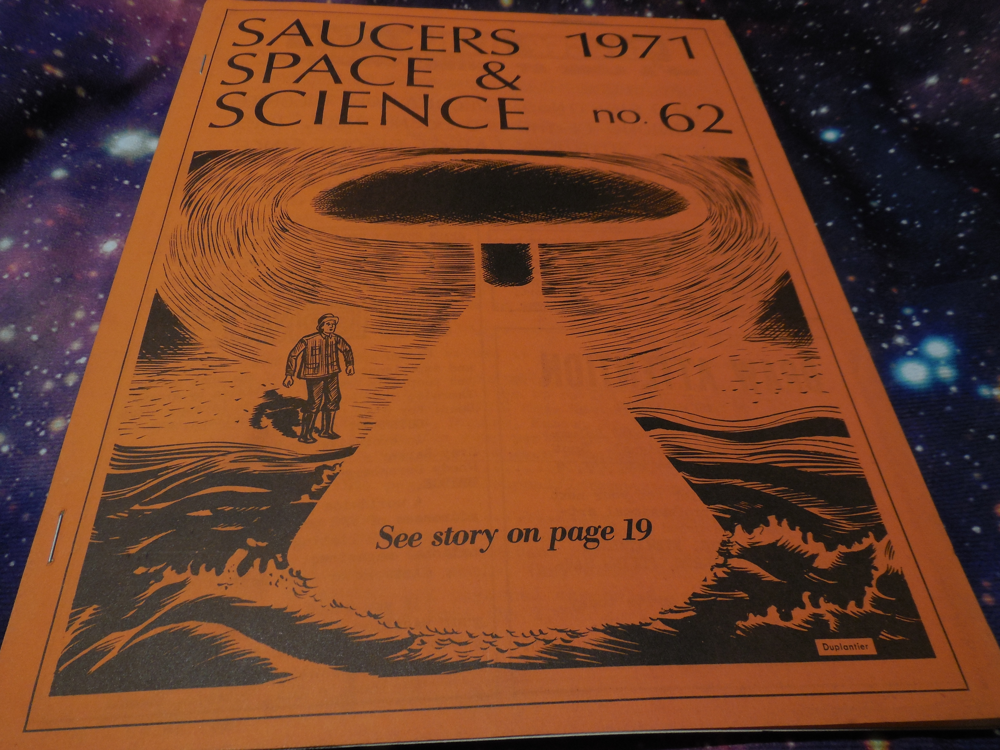 Image for Saucers, Space & Science, Issue No. 62, 1971