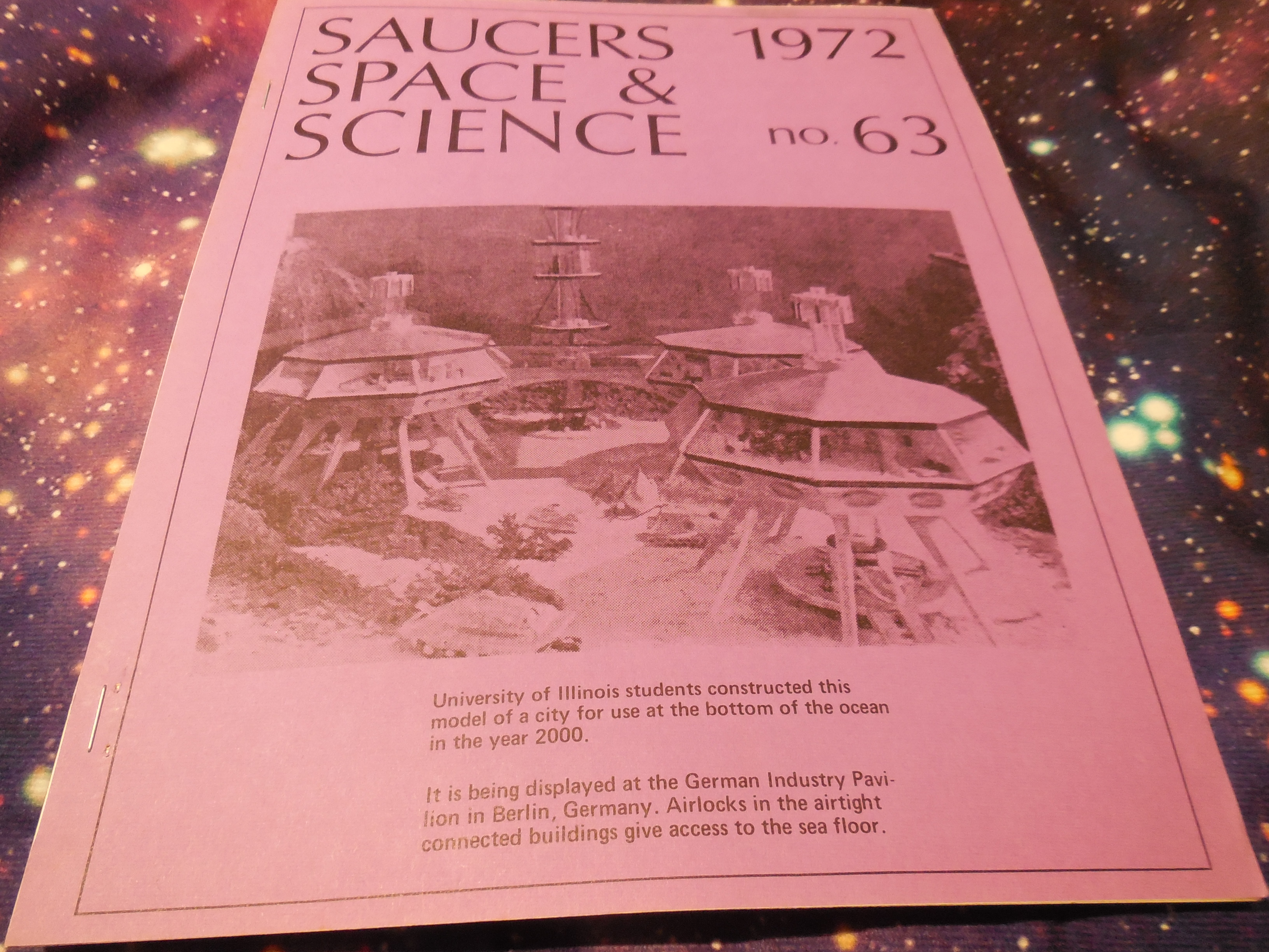 Image for Saucers, Space & Science, Issue No. 63, 1972