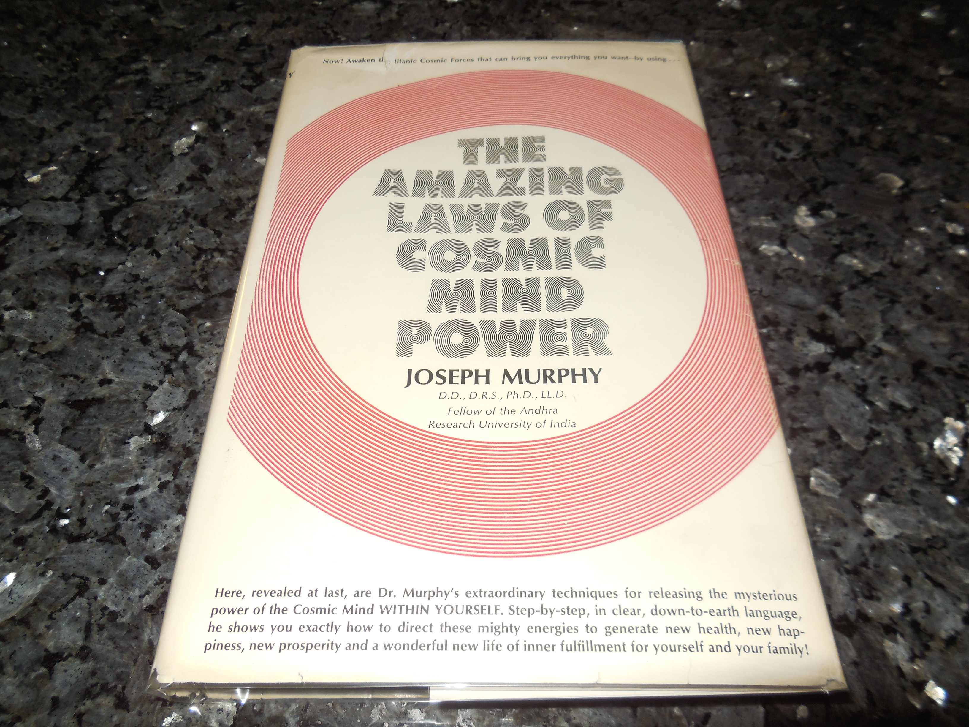 Image for The Amazing Laws of Cosmic Mind Power