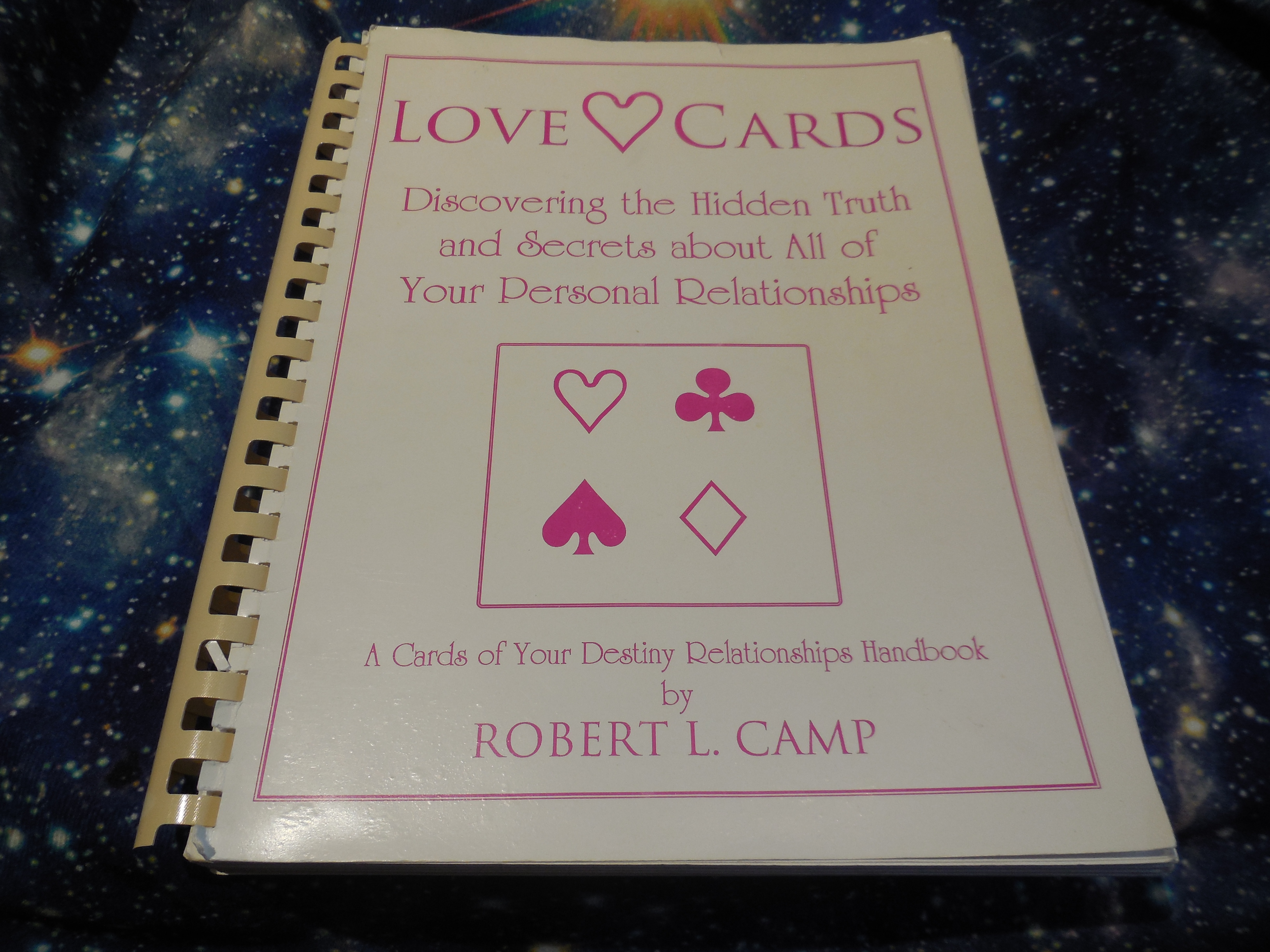 Image for Love Cards; Discovering The Hidden Truth And Secrets About All Of Your Personal Relationships
