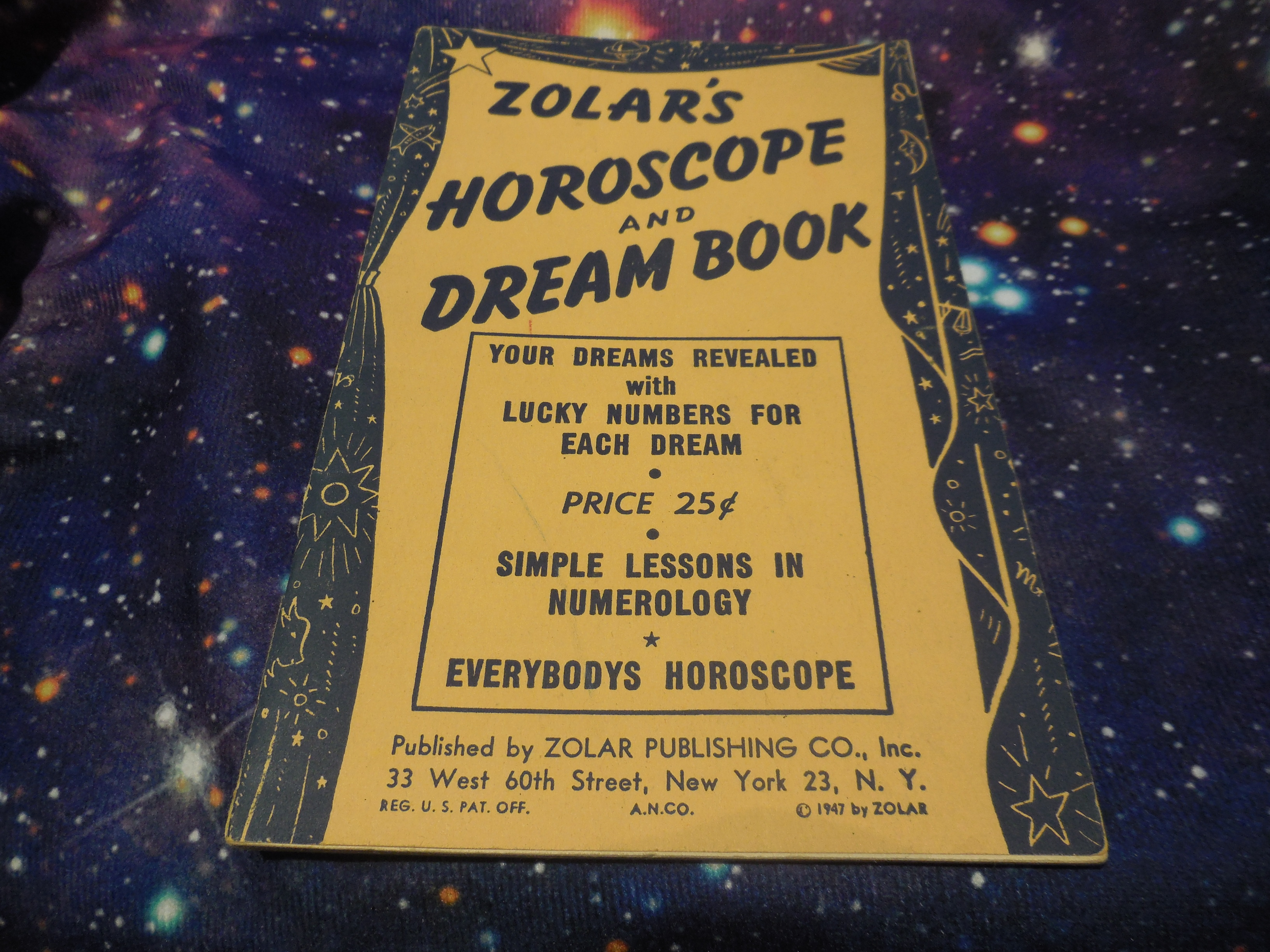 Image for Zolar's Horoscope and Dream Book
