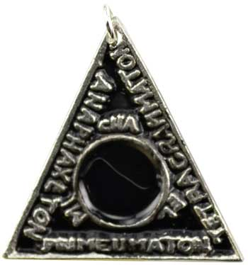 Image for Solomon's Magic Triangle Amulet