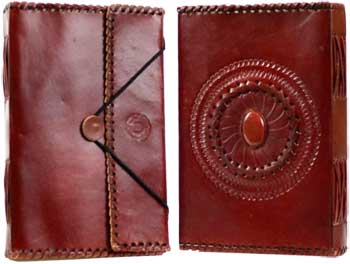Image for Large God's Eye Leather Blank Book