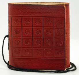 Image for Mini Pocket Leather  Blank Book