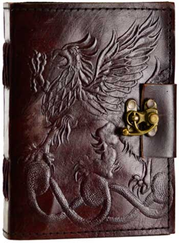 Image for Gryphon Leather Blank Book