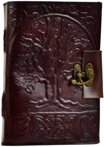 Image for Tree of Life Leather Blank  Book