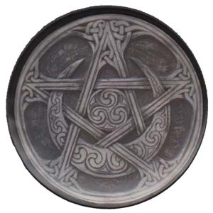 Image for Moon Pentagram Magnet