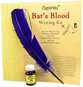 Image for Bats Blood Writing Kit