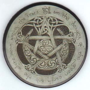 Image for Large Moon Pentagram Magnet